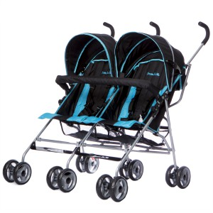 The DOM double stroller they sent to our hero babies.