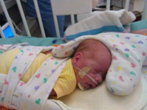 Claythan born at 26 weeks is now at 4lbs 2 oz